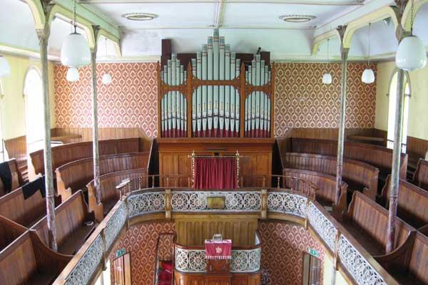 Westgate Methodist Chapel has its original Victorian fittings © NPAP/Elfie Waren