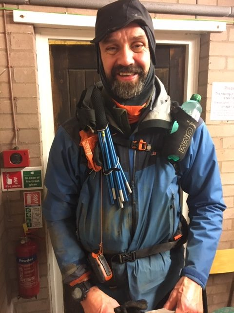 Chris Ullman - almost ready to depart Alston, CP4
