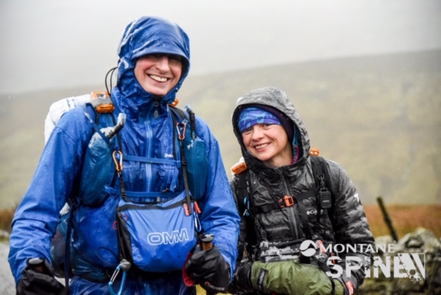 David Ward and Fiona Lynch completed the Montane Spine Race 2020 in 163:50:02