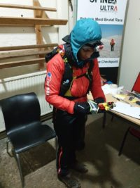 First lady - Sabrina Verjee ready to leave CP3, Middleton-in-Teesdale