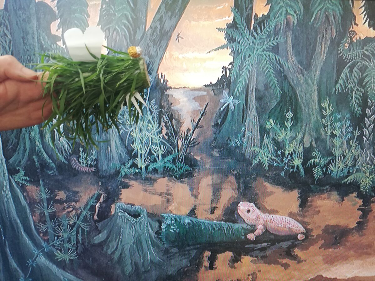 Creature in swamp