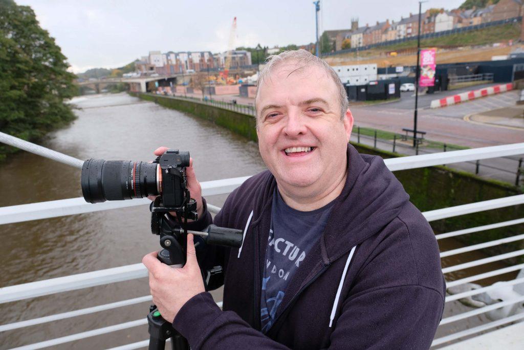 Image of astrophotographer Gary Lintern