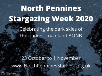 North Pennines Stargazing Week 2020