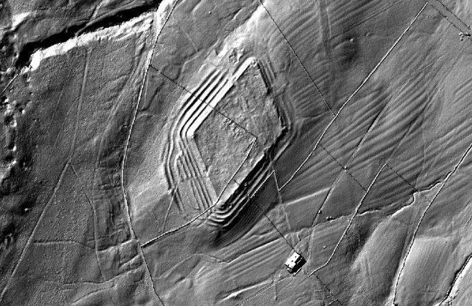 Whiteley Castle LIDAR
