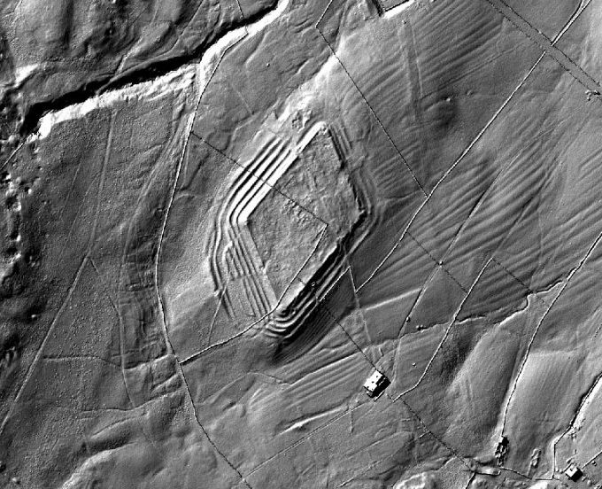 Whiteley Castle LIDAR