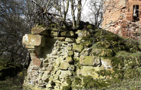 Image of ruins of Kirkoswald Castle