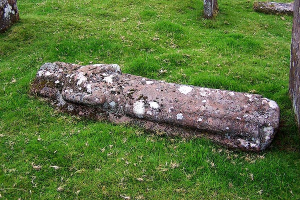 Photo of Wharton grave at Croglin church graveyard